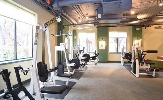 Fitness Center Amenity in Park Place Towers in Hartford, CT